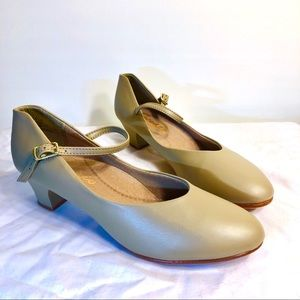Capezio Tan Character 2 Inch Heel Dance Shoes